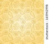 line cockleshells seamless...   Shutterstock .eps vector #165942998