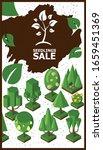 isometric garden set  vector... | Shutterstock .eps vector #1659451369