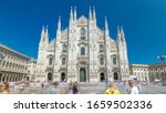 The Duomo Cathedral Timelapse . ...