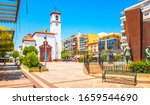 fuengirola old town view and... | Shutterstock . vector #1659544690