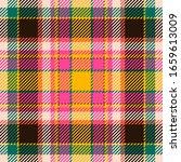 tartan scotland seamless plaid... | Shutterstock .eps vector #1659613009