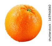 Orange Fruit With Drops...