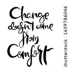 change does not come from... | Shutterstock .eps vector #1659786046