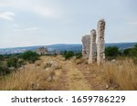 Remains Of Buildings In Ancien...