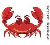 seafood. shellfish. crab... | Shutterstock .eps vector #16598146