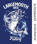 Largemouth Bass Fishing T Shir...