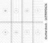 soft delicate patterns. set of... | Shutterstock .eps vector #1659890626