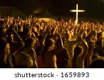 worship crowd | Shutterstock . vector #1659893