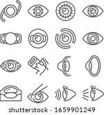 eye surgery ophthalmologist set ...   Shutterstock .eps vector #1659901249