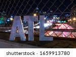 Atlanta Traffic At Night With...