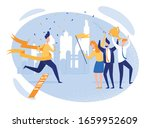 jubilant support group three... | Shutterstock .eps vector #1659952609