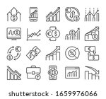 stock quotes icons. stock...   Shutterstock .eps vector #1659976066