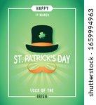 st. patricks day luck of the...   Shutterstock .eps vector #1659994963