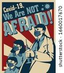 coronavirus covid 19 propaganda ... | Shutterstock .eps vector #1660017670