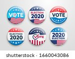set of 2020 united states of... | Shutterstock .eps vector #1660043086