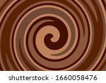 chocolate swirl background....   Shutterstock .eps vector #1660058476