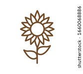 natural flower line style icon... | Shutterstock .eps vector #1660068886