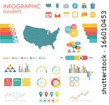 vector map of united states of... | Shutterstock .eps vector #166010453