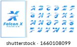 eagle head initial letter logo...   Shutterstock .eps vector #1660108099