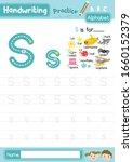 letter s uppercase and... | Shutterstock .eps vector #1660152379