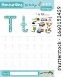 letter t uppercase and... | Shutterstock .eps vector #1660152439