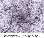 Fractal Background In Vector....