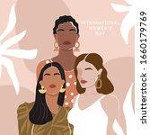 international women's day... | Shutterstock .eps vector #1660179769