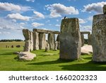 Stonehenge On A Bright Sunny Day