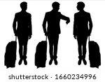 vector illustration silhouette... | Shutterstock .eps vector #1660234996
