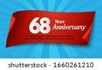 68 years anniversary...   Shutterstock .eps vector #1660261210
