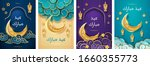 set of isolated greeting cards... | Shutterstock .eps vector #1660355773