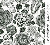 hand drawn sketch vegetables....   Shutterstock .eps vector #1660371103