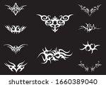 modern tattoo items for men | Shutterstock .eps vector #1660389040
