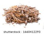 Small Pile Of Wood Chips For...