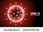 coronavirus disease covid 19... | Shutterstock .eps vector #1660430236