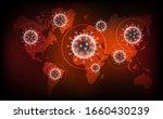 coronavirus disease covid 19... | Shutterstock .eps vector #1660430239