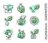 green ecological concepts. set... | Shutterstock .eps vector #1660469293