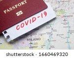 Coronavirus in italy  pandemic...