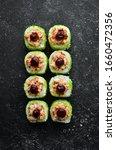Green Sushi Rolls   With Eel...