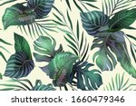 seamless vector pattern with... | Shutterstock .eps vector #1660479346