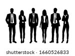 vector silhouettes of  men and... | Shutterstock .eps vector #1660526833