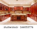 Stock photo kitchen interior 166053776