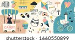 collection of summer holiday ... | Shutterstock .eps vector #1660550899