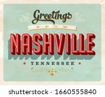 vintage touristic greeting card ... | Shutterstock .eps vector #1660555840