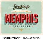 vintage touristic greeting card ... | Shutterstock .eps vector #1660555846