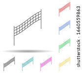 volleyball net multi color...