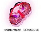 digital illustration of  rib... | Shutterstock . vector #166058018