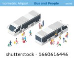 isometric people get on off the ...   Shutterstock .eps vector #1660616446