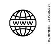internet http address icon...