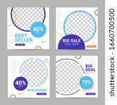 social media banner post... | Shutterstock .eps vector #1660700500